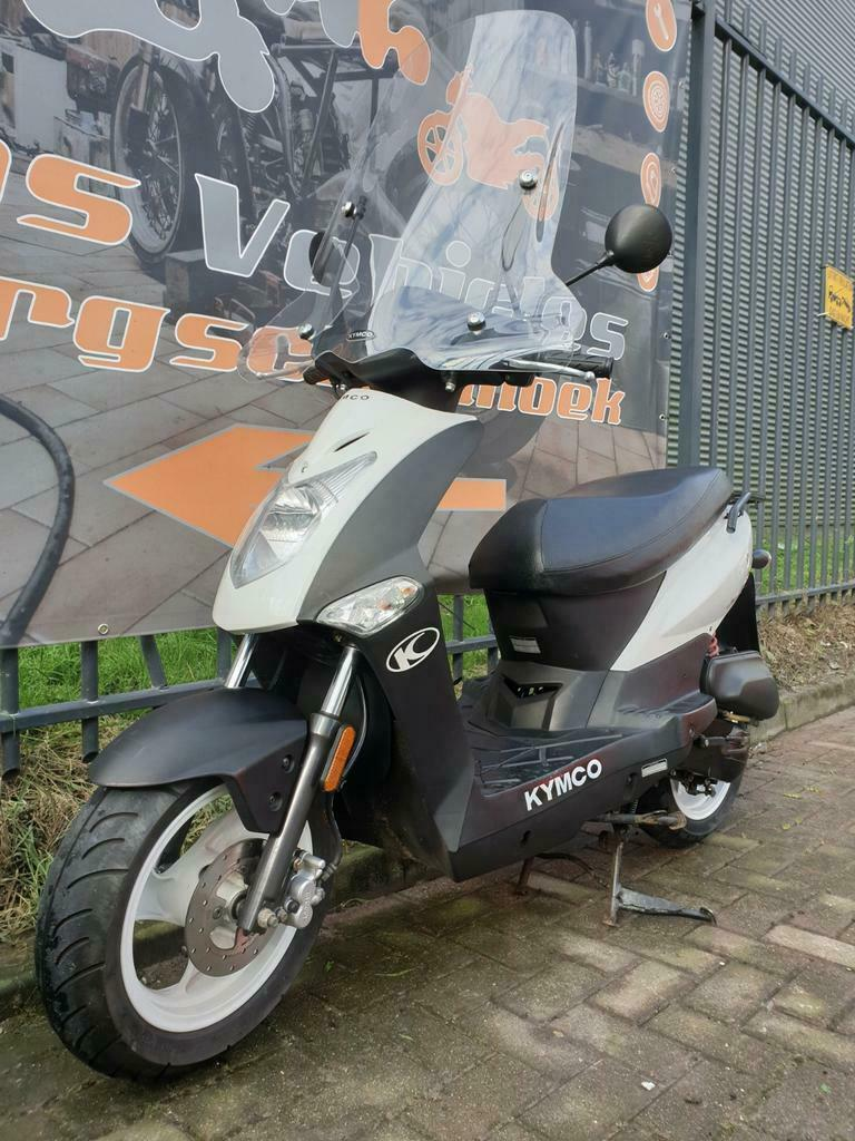Kymco Agility 12 inch Snorscooter-3
