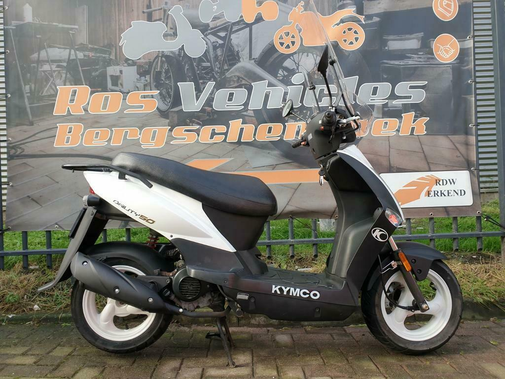 Kymco Agility 12 inch Snorscooter-6