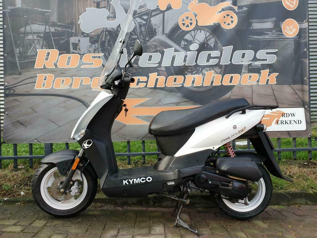 Kymco Agility 12 inch Snorscooter-7